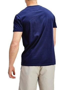T-Shirt Tommy Jeans Corp Blu Uomo