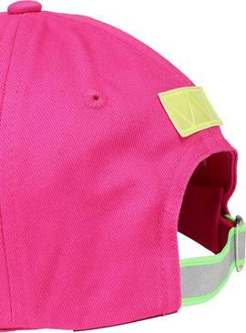 Cappellino Tommy Jeans Heritage Rosa per Donna
