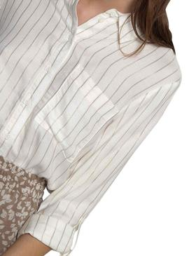 Camicia Only Natali Bianco Donna
