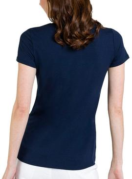 T-Shirt Naf Naf Look Blu Navy Donna