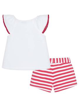 Set Mayoral Exotic Rosso per Bambina