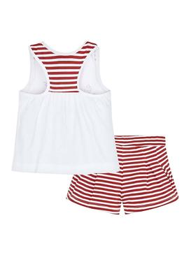 Set Mayoral Summer Rosso per Bambina