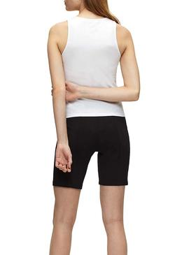 T-Shirt Calvin Klein Monogram Sporty Bianco Donne