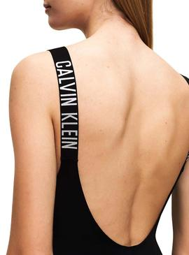 Costume da bagno Calvin Klein Intense Power Nero Donna