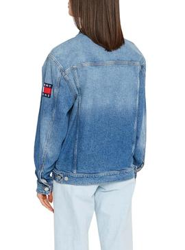 Giubbotto Denim Tommy Jeans Oversize ANMB Donna