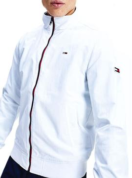 Giubbotto Tommy Jeans Essential Bomber Bianco
