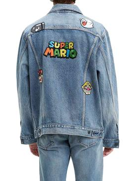 Giubbotto Denim Levis Vintage Super Mario