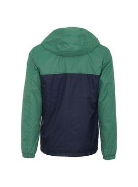 Giubbotto Jack and Jones Cott Verde per Uomo