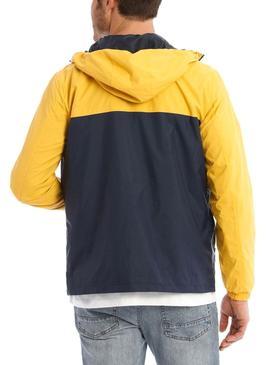 Giubbotto Jack and Jones Cott Giallo per Uomo