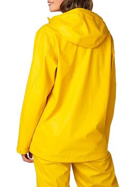 Giacca impermeabile Helly Hansen Moss Giallo per Donna