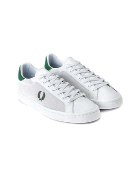 Sneaker Fred Perry Lawn Bianco per Uomo