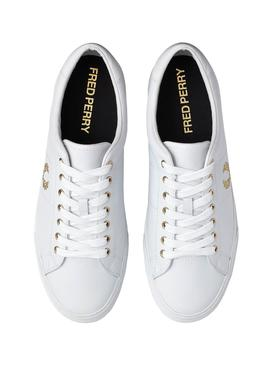 Sneakers Fred Perry Underspin Bianco per Uomo