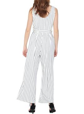 Jumpsuit Only Felia Bianco per Donna