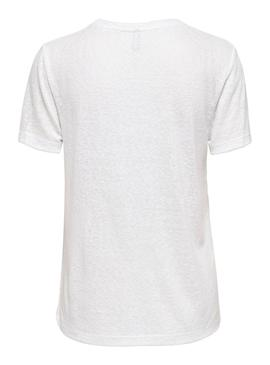 T-Shirt Only Piper Imprevedibile Bianco Donna