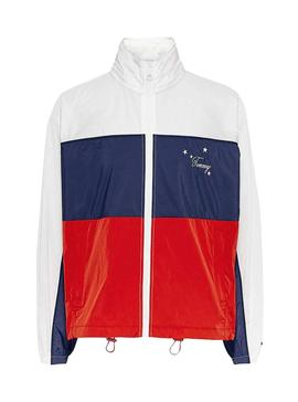 Parka Tommy Jeans Colorblock per Donna