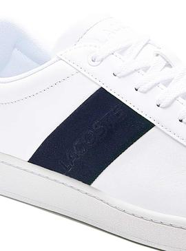 Sneaker Lacoste Carnaby 120 Bianco per Uomo