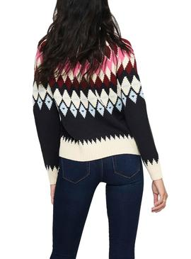 Pullover Only Arielle Blu Navy per Donna