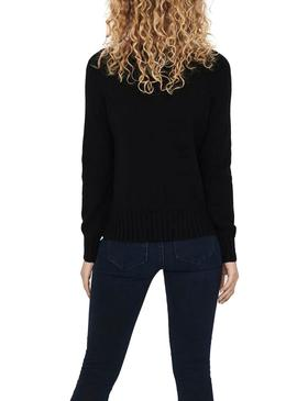 Pullover Only Sandy Nero per Donna