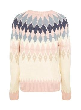 Pullover Only Arielle Rosa per Donna