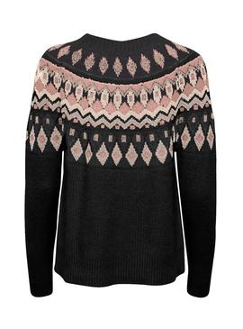 Pullover Only Lamber Nero per Donna