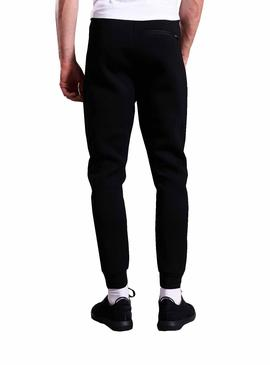 Pantaloni Superdry joggers gym tech Nero Uomo