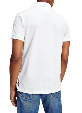 Polo Tommy Hilfiger Icon  Roundal Bianco Uomo