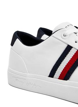 Sneaker Tommy Hilfiger Corporate Bianco Uomo