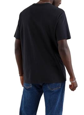T-Shirt Levis Relaxed Tee Nero per Uomo